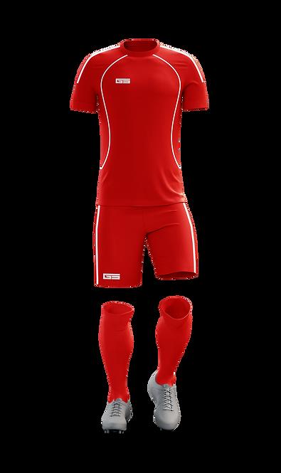 Golati Soccer Kit (Red/White)