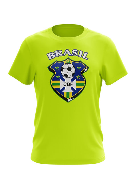 Brasil Soccer Shield  T-Shirt