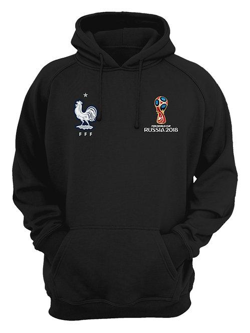 France World Cup 2018 Black Hoodie
