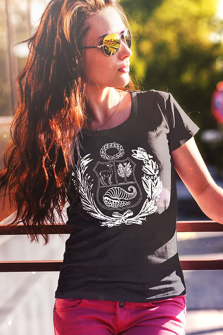 copy of Peru Crest Ladies T-shirt