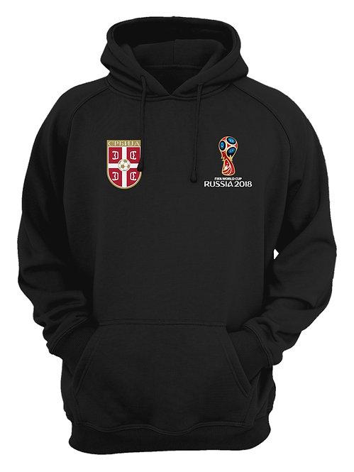 Serbia World Cup 2018 Black Hoodie