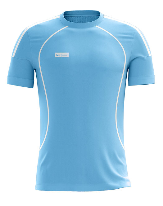 Golati Soccer Jersey 210 (Light Blue/White)