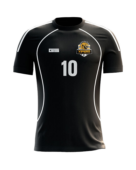 Vipers Black Game Jersey