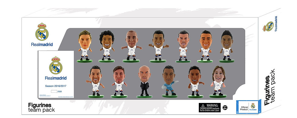 Real Madrid - Team Pack (2016-17 Version)