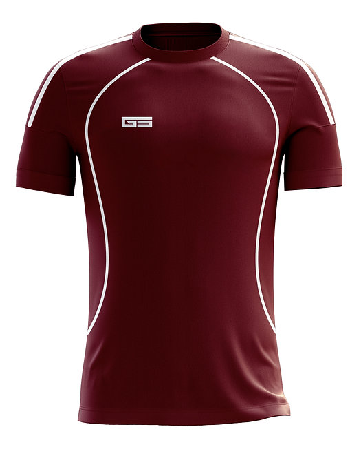 Golati Soccer Jersey 213 (Maroon/White)
