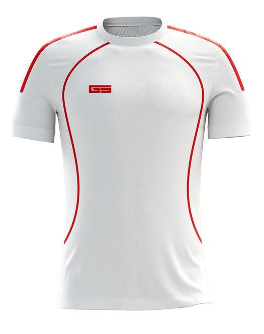 Golati Soccer Jersey 203 (White/Red)