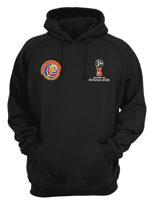 Costa Rica World Cup 2018 Black Hoodie