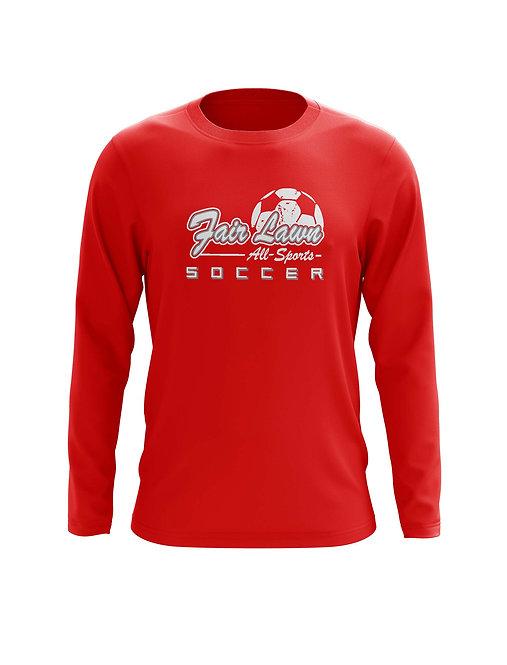 2-FLSoccer: Long Sleeve Logo T-Shirt