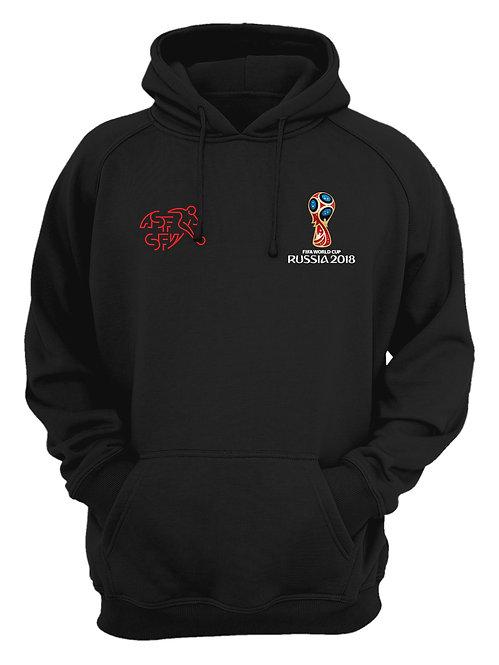 Switzerland World Cup 2018 Black Hoodie
