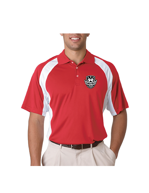 Red/White Polo Shirt