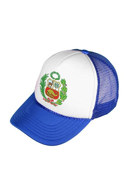 Peru Escudo Royal/White Mesh Cap