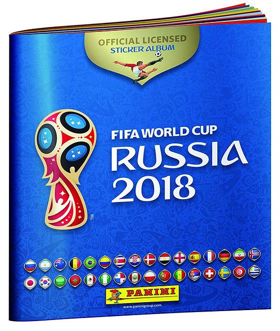 Panini 2018 Fifa World Cup Russia Paperback Album
