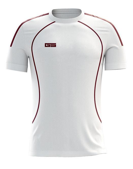 Golati Soccer Jersey 222 (White/Maroon)