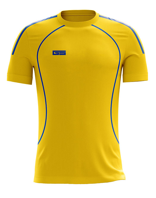 Golati Soccer Jersey 215 (Gold/Royal)