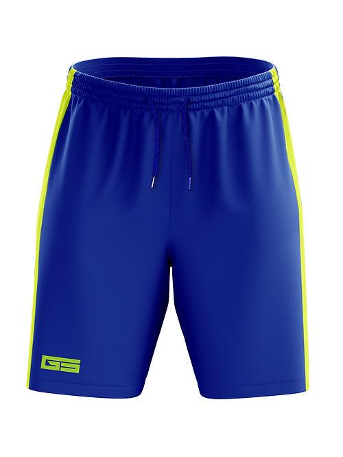 Golati Soccer Shorts (Royal/Neon Yellow)