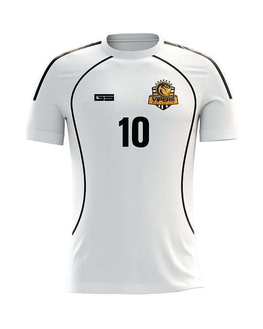 Vipers White Game Jersey