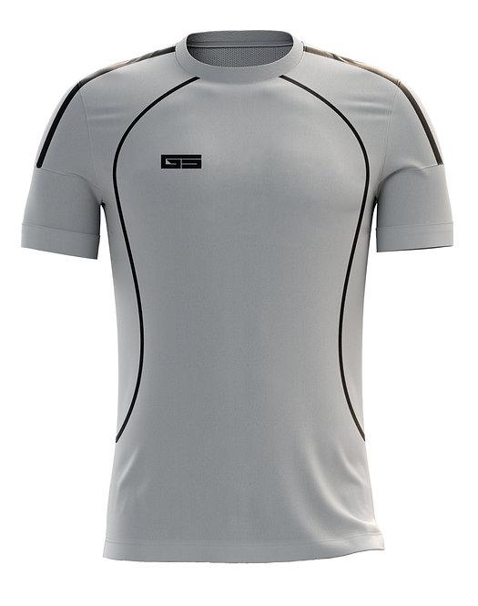 Golati Soccer Jersey 214 (Silver/Black)