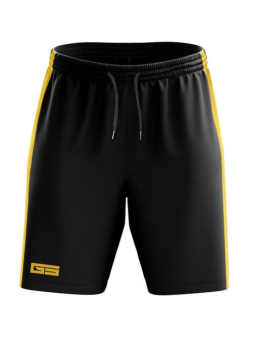Golati Soccer Shorts (Black/Gold)