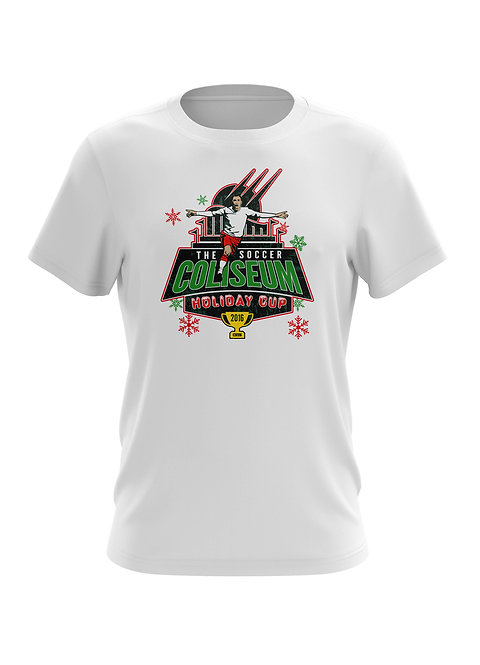 Soccer Coliseum Holiday T-Shirt