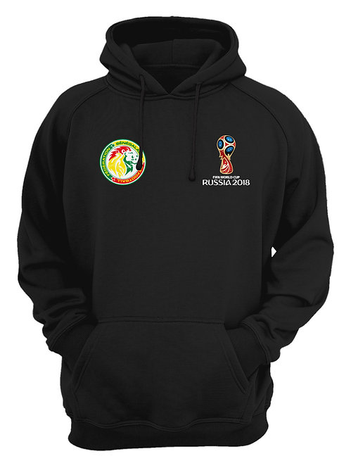 Senegal World Cup 2018 Black Hoodie