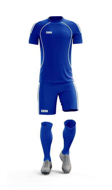 Golati Soccer Kit (Royal/White)