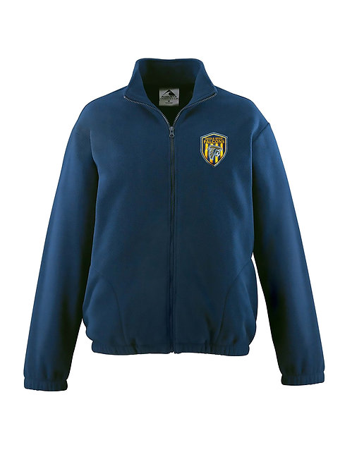 Navy Chill Fleece Full Zip Jacket