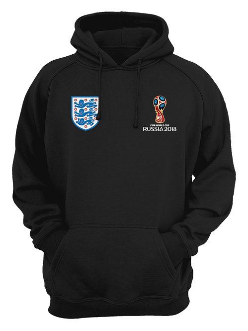 England World Cup 2018 Black Hoodie
