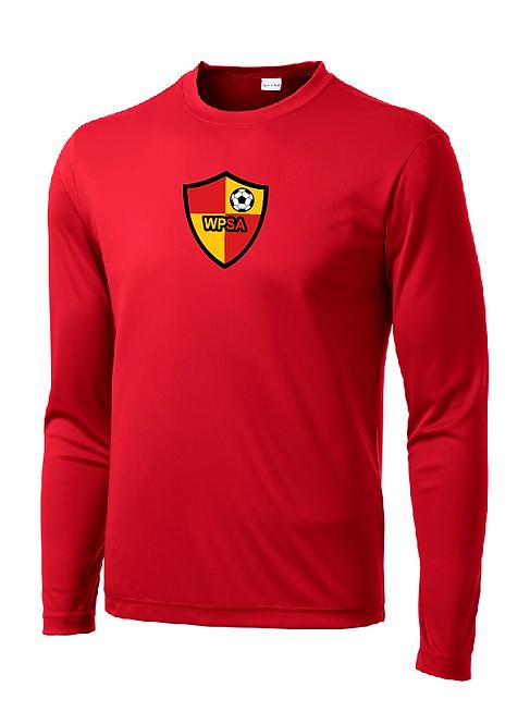 WPSA Soccer Sport-Tek Long Sleeve PosiCharge Tee