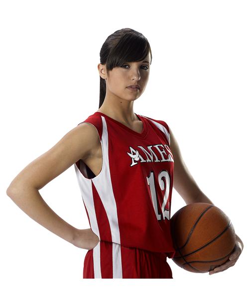 Womens Reversible Basketball Uniform Set