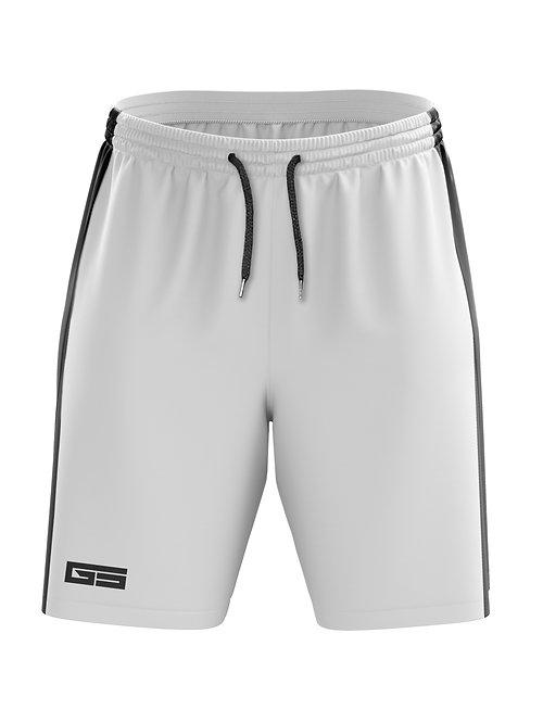 Golati Soccer Shorts (White/Black)