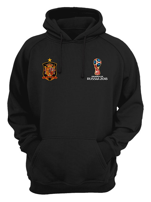 Spain World Cup 2018 Black Hoodie