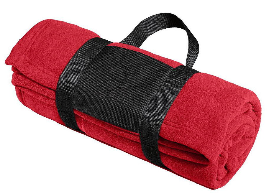 WPSA Soccer Fleece Blanket with Carrying Strap