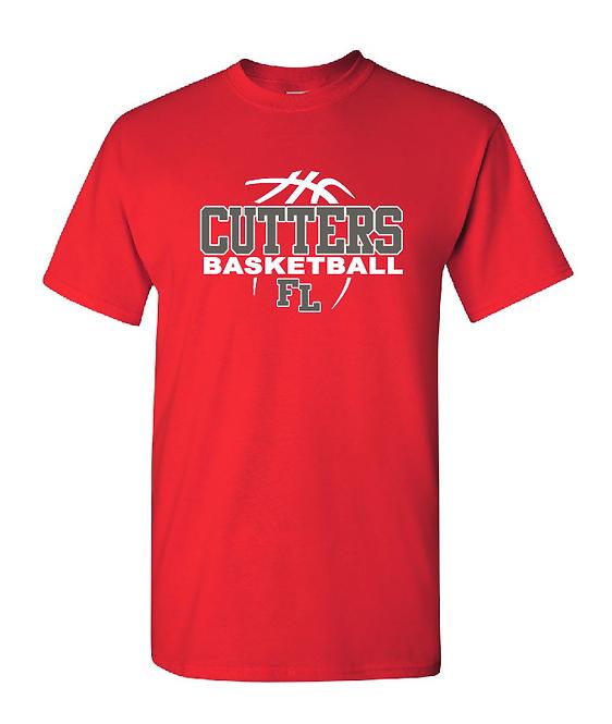 FLHS Cutters Basketball Heavy Cotton T-Shirt