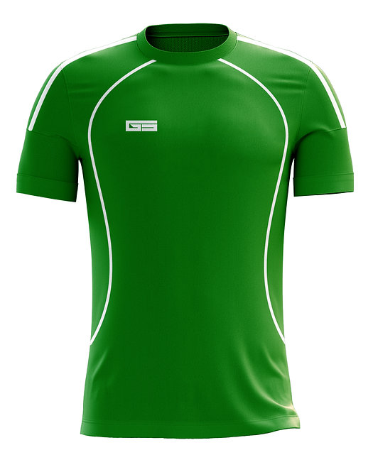 Golati Soccer Jersey 208 (Green/White)