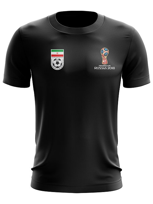 Iran World Cup 2018 Black T-Shirt