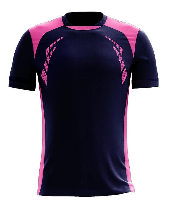 Hybrid Jerseys (Navy/Pink)