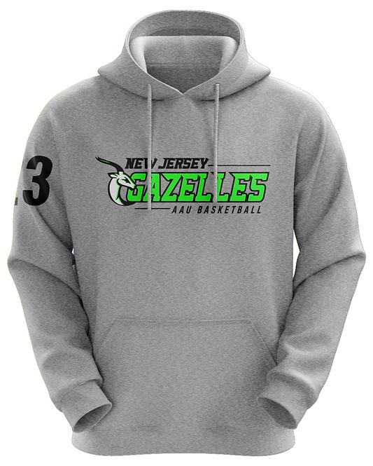 NJ Gazelles 2017 AAU Basketball Hoodie