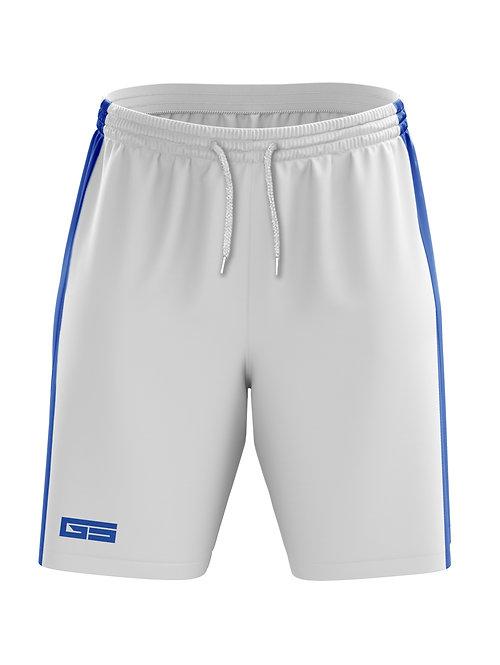 Golati Soccer Shorts (White/Royal)