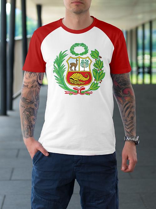 Duo Tone Peru Escudo T-Shirt