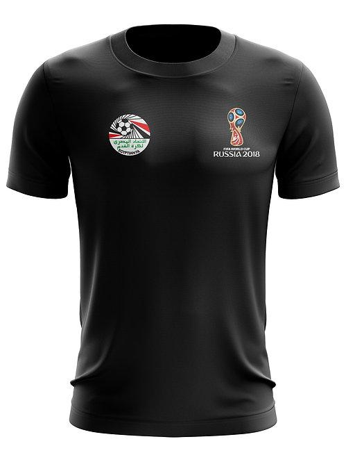 Egypt World Cup 2018 Black T-Shirt