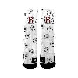 Ridgewood Novelty Crew Socks Soccer Ball
