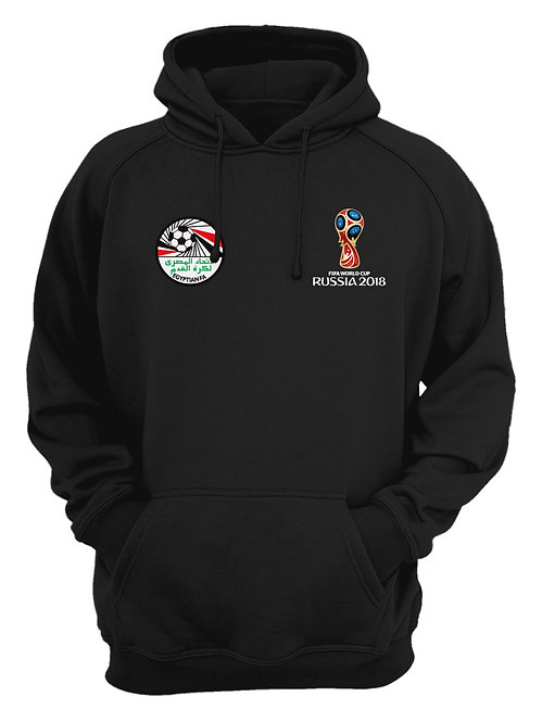 Egypt World Cup 2018 Black Hoodie