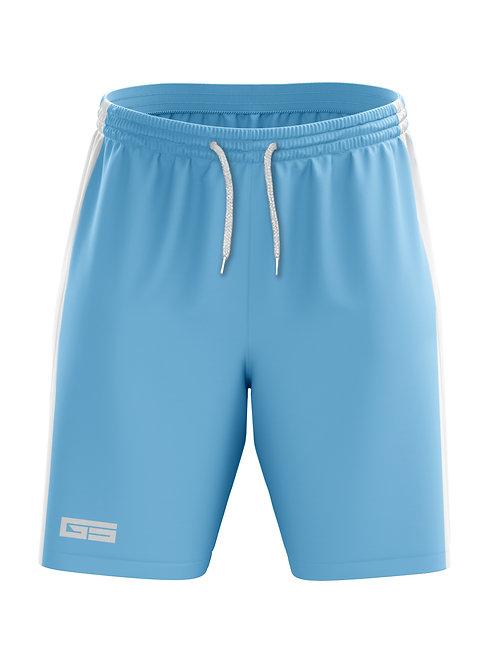 Golati Soccer Shorts (Light Blue/White)