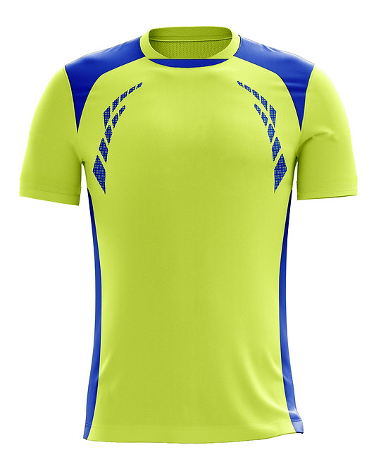 Hybrid Jerseys (Neon Yellow/Royal)