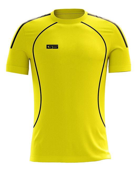 Golati Soccer Jersey 211 (Brasil Yellow/Black)