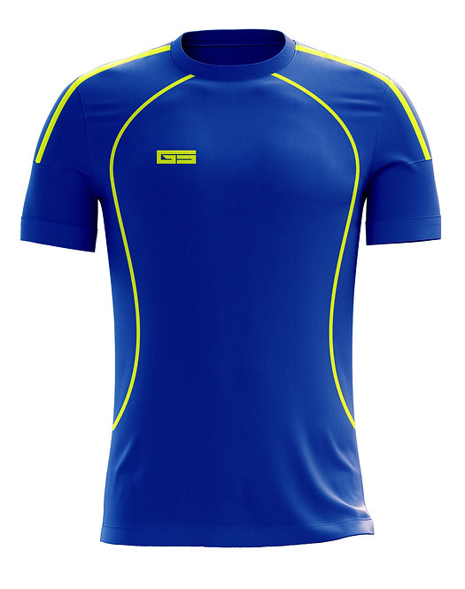 Golati Soccer Jersey 225 (Royal/Neon Yellow)