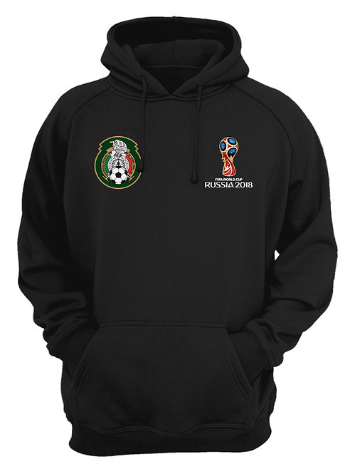 Mexico World Cup 2018 Black Hoodie