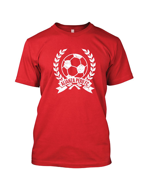 Red Fitted T-Shirt