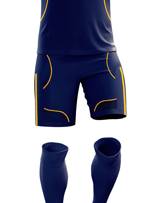 Navy Game Shorts