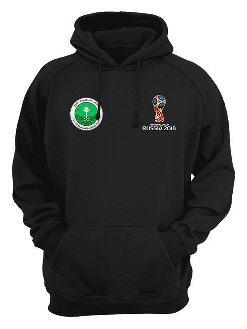 Saudi Arabia World Cup 2018 Black Hoodie